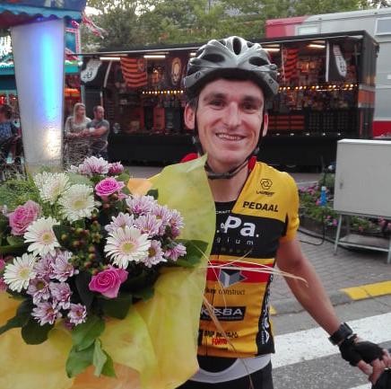 Tom Schepens wint Heusdenkoers voor wielertoeristen